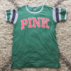 eb25c6a73a250 Women Pink Victoria's Secret Baseball Tee on Poshmark